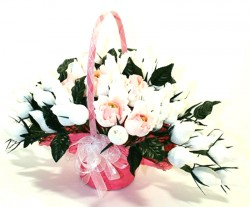 Букет из конфет Свадебные цветы