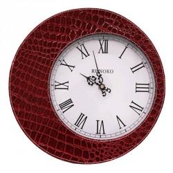 Кожаные часы  Runoko Leather Clock