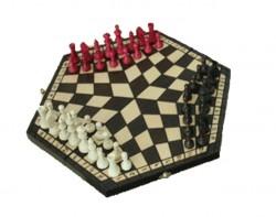 Шахматы Тройные большие