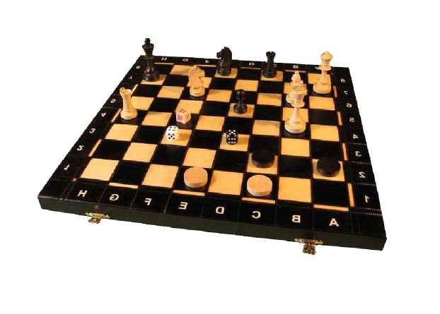 Нарды + шахматы №4