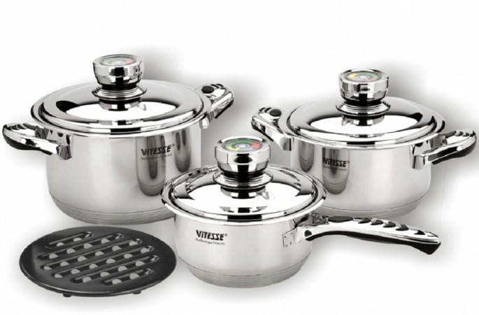 Набор посуды VITESSE Ginita (7 предметов)