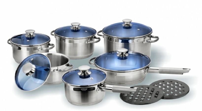 Набор посуды VITESSE Narvis (14 предметов)