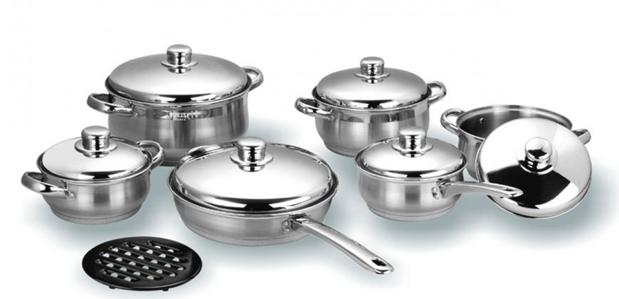 Набор посуды VITESSE Chilali (13 предметов)