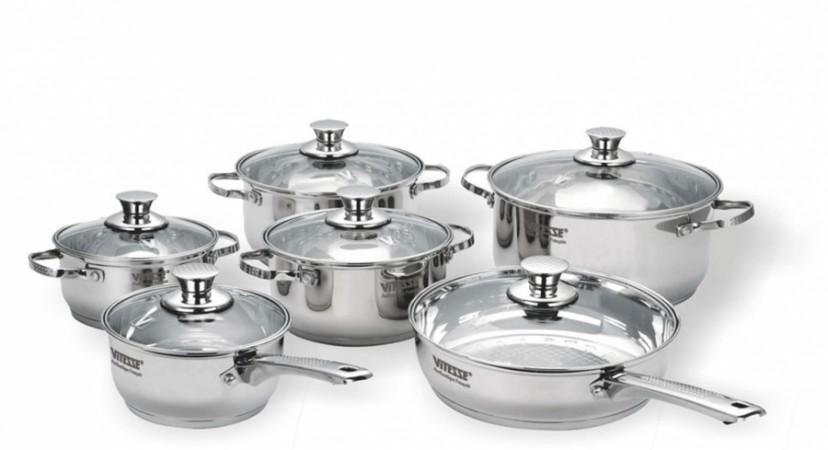 Набор посуды VITESSE Casondra (12 предметов)