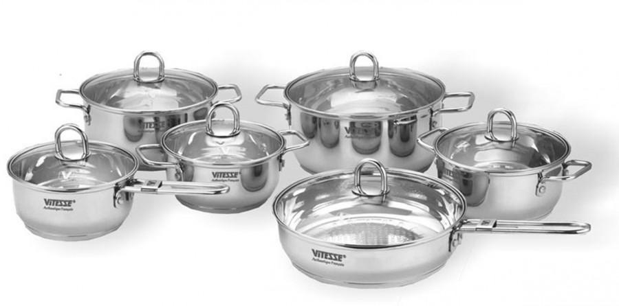 Набор посуды Vitesse Paluma (12 предметов)