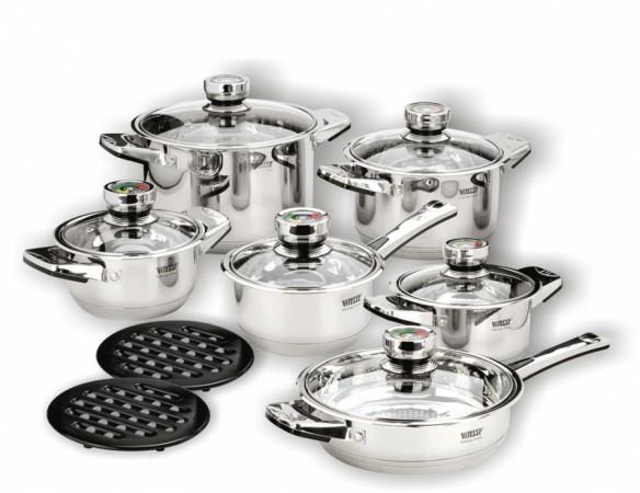 Набор посуды VITESSE Alice (14 предметов)