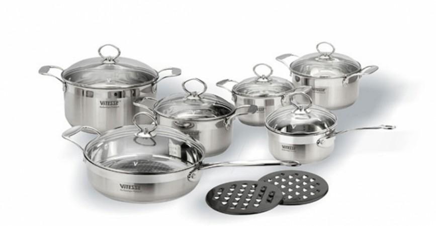 Набор посуды VITESSE Jo Jo (14 предметов)
