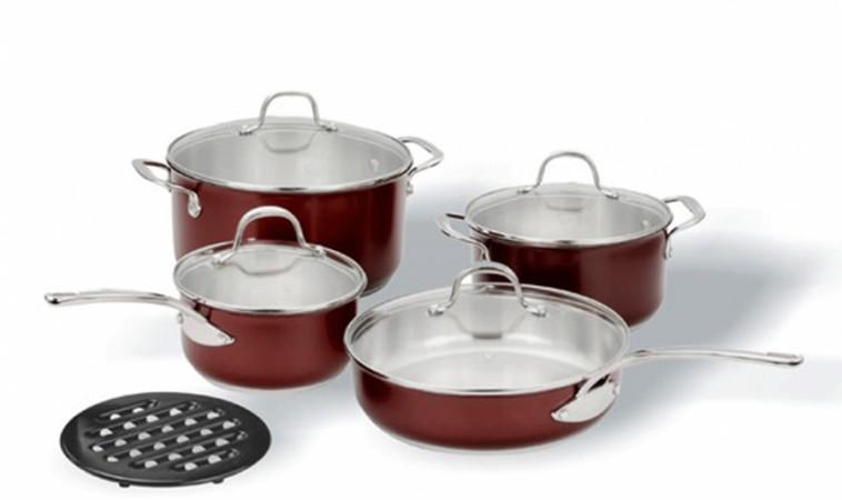 Набор посуды VITESSE Asnee (9 предметов)