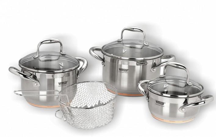 Набор посуды VITESSE Affina ( 8 предметов)