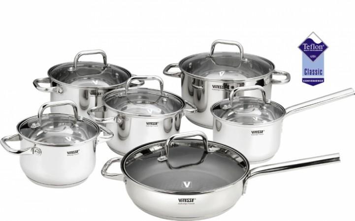 Набор посуды VITESSE Helaine (12 предметов)