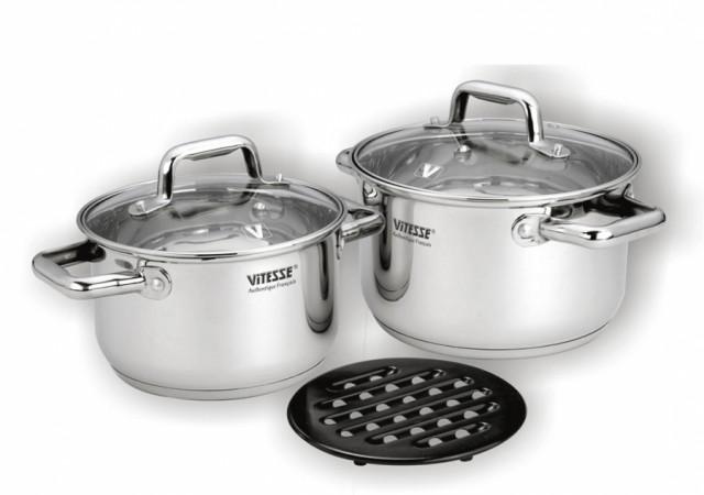 Набор посуды VITESSE Yanaba (5 предметов)