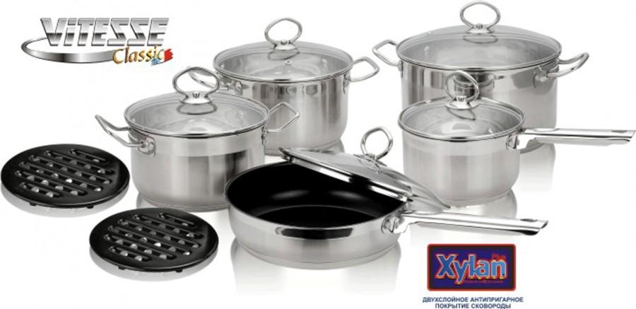 Набор посуды Vitesse из 12 предметов