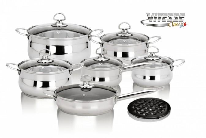 Набор посуды Vitesse из 13 предметов
