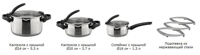 Набор посуды Cook Art