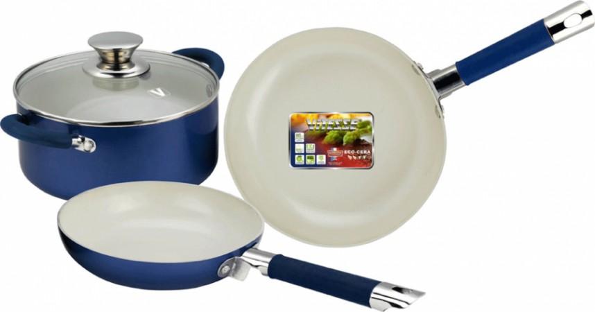 Набор посуды с антипригарным керамическим покрытием (4 предмета)