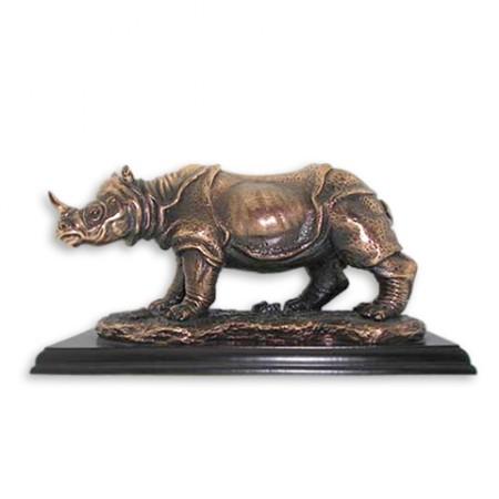 Медная статуэтка Носорог E162