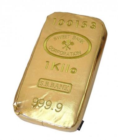 Слиток золота - подушка