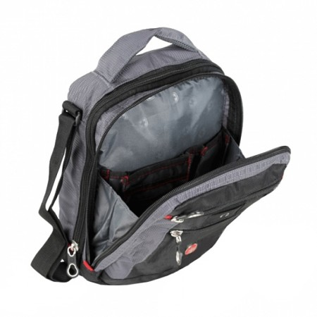 Сумка WENGER «VERTICAL BOARDING BAG» с 15 кармашками