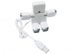 USB Hub на 4 порта в виде человечка-трансформера