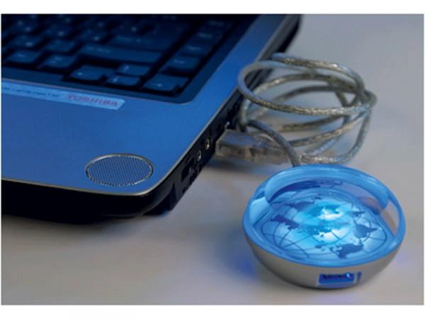 USB Hub на 3 порта с возможностью вставки рекламного мини-постера