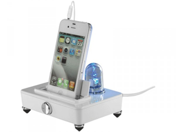 Подставка под мобильный телефон с колонками и подсветкой