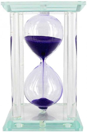 Песочные часы стекло квадрат