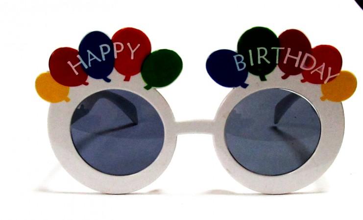 """Очки - party """"Happy birthday"""""""