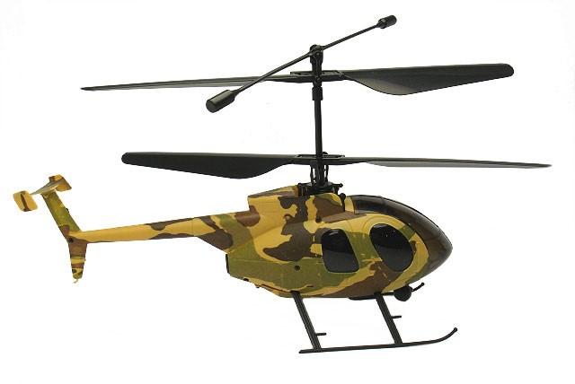 Вертолет Nine Eagle Bravo III RTF 2,4GHz Сamouflage в кейсе
