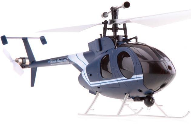 Вертолет Nine Eagles Bravo SX 2.4 GHz (Dark Blue RTF Version)