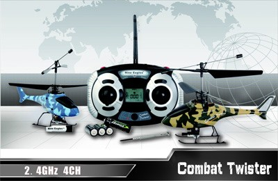 Вертолет Nine Eagles Combat Twister 2.4 GHz