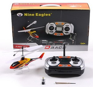 Вертолет Nine Eagles Draco 2.4 GHz в кейсе