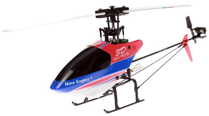 Вертолет Nine Eagles Solo PRO 100 3D 2.4 GHz