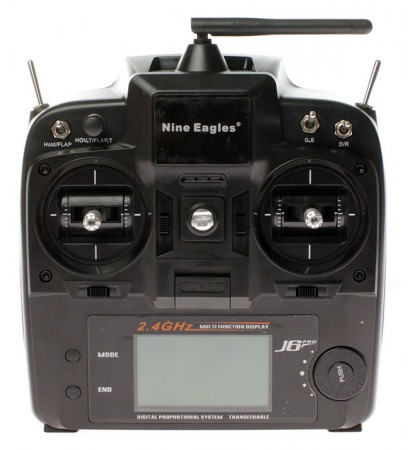 Вертолет Nine Eagles Solo PRO 100 3D 2.4 GHz