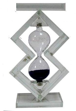Песочные часы стекло Ёлочка