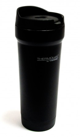 Термочашка BrillMug-450, 0,45 л,  Brilliant Thermocafe by Thermos черная