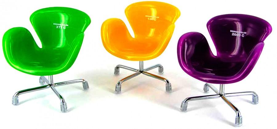 Кресло пластик - подставка