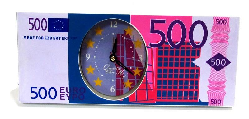 """Настольные часы """"500 €"""" (бол.)"""