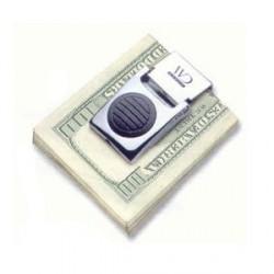 Зажим для денег  с фонариком