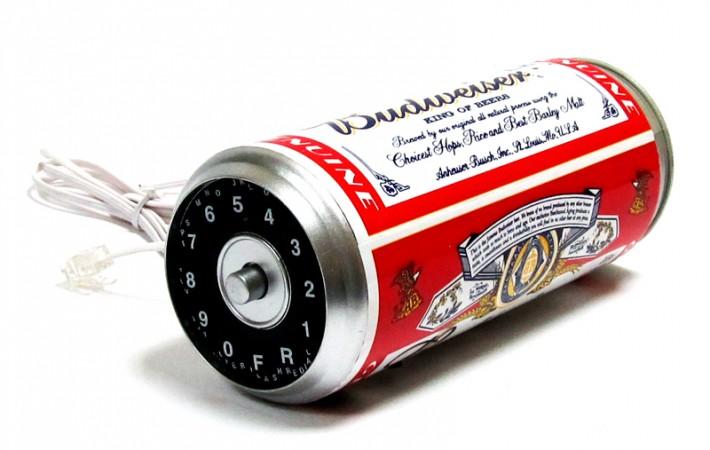 """Телефон банка пива""""Budweiser"""""""