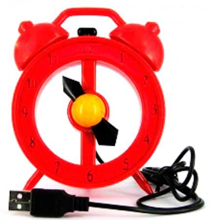 USB вентилятор Часы