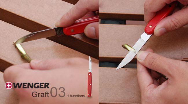 Нож садовника Wenger Classic 1 75 03