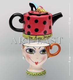 Чайный набор Дама