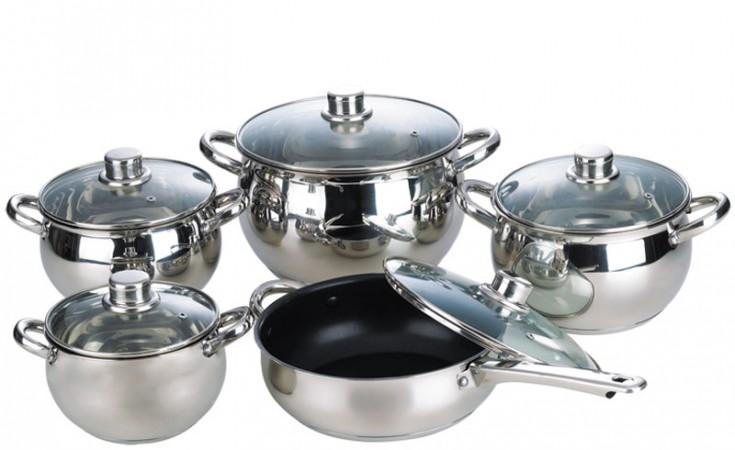 Набор посуды 10 предметов 26-157-023