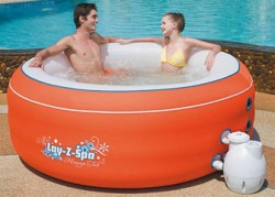 LAY-Z-SPA аэромассажный надувные мини бассейн СПА