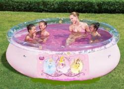 Круглый надувной бассейн 91052