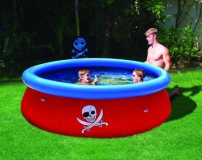 Надувной круглый бассейн 57243