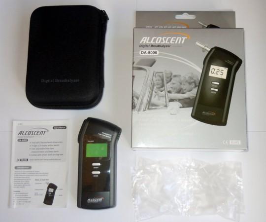 Алкометр Alcoscent DA-8000