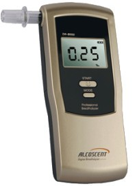 Цифровой алкотестер Alcoscent DA-8500