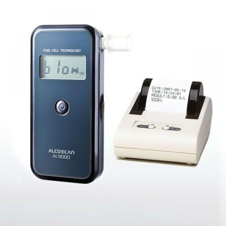 Цифровой алкотестер Alcoscan AL-9000P с принтером