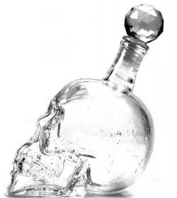 Графин череп большой